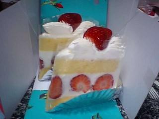 銀座千疋屋:イチゴショートケーキ2