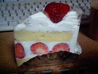 銀座千疋屋:イチゴショートケーキ4