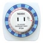 24時間プログラムタイマーREVEX PT24で液体蚊取り線香を節約する。