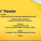 Foxit Reader Version 5.3.1.0606 を日本語化するには?