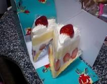 銀座千疋屋:イチゴショートケーキ