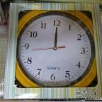 ダイソーで買ってきた掛け時計がちょっと失敗な件。