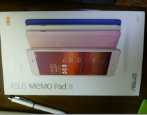 [Android]ASUS MeMo Pad 8 AST21を購入>WW化>root化>ロリポ化